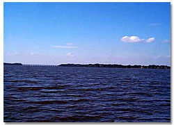 View Across Big Lake Harris Florida