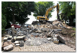 Lakefront Home Demolition